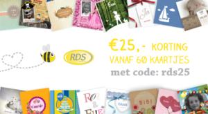 KaartenBIJ RDS repro Odijk 25% korting